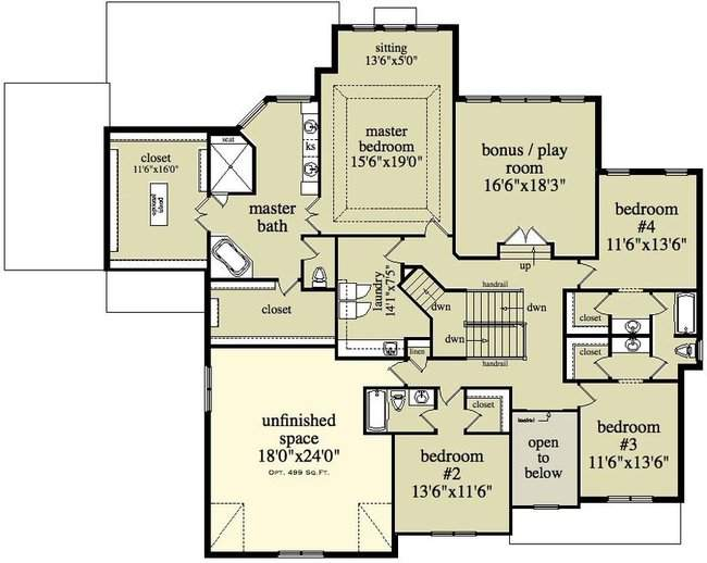 Storey House Plans Two Home Designs Canadian
