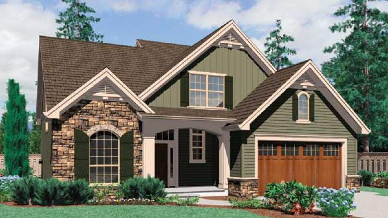 Story Cottage Style House Plans Ideas Design