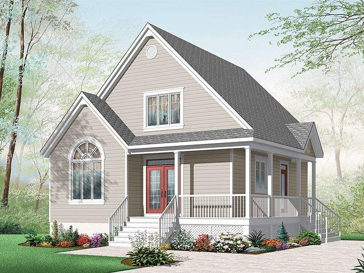 Story Small Cottage House Plans