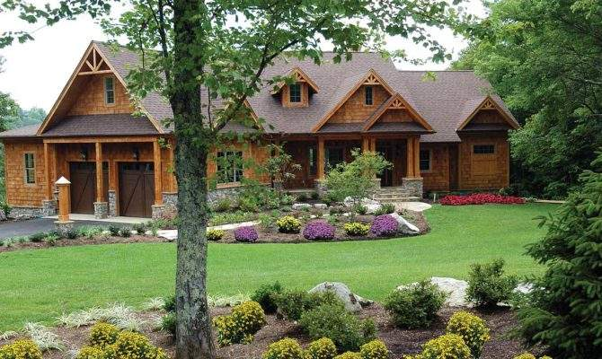 Stunning Mountain Ranch Home Plan