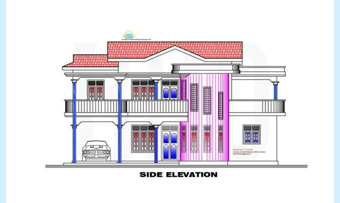 Style Home Plan Elevation Appliance