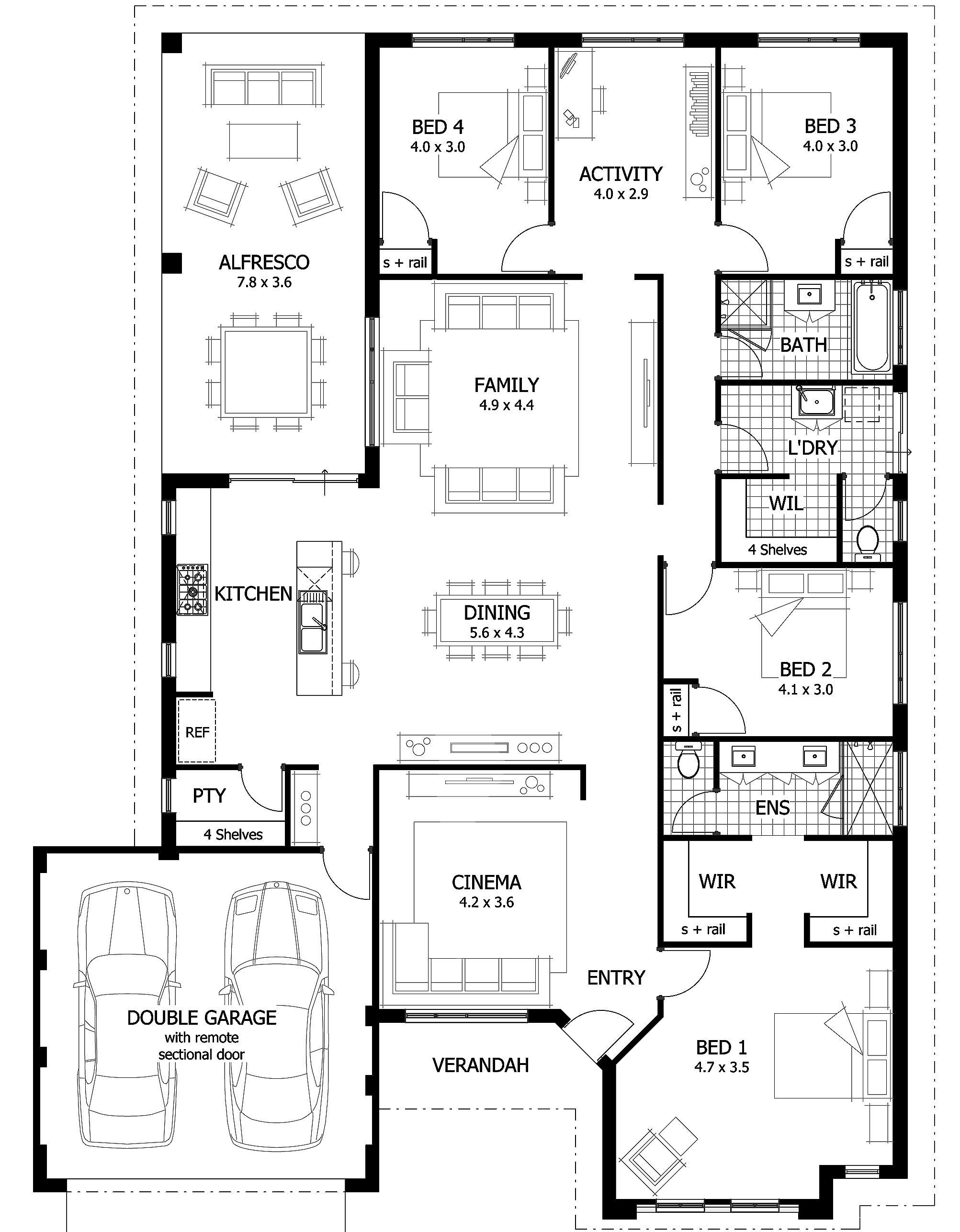 Suite Bathroom Floor Plans Ensuite - HG Styler | #168938