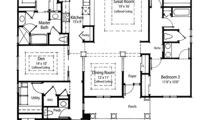 Super Energy Efficient House Plan Floor