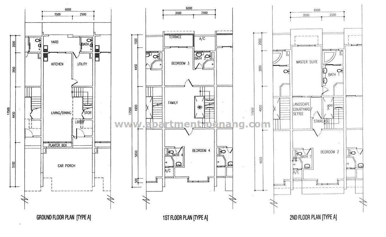 Terrace Level House Plans Garrell Associates Inc