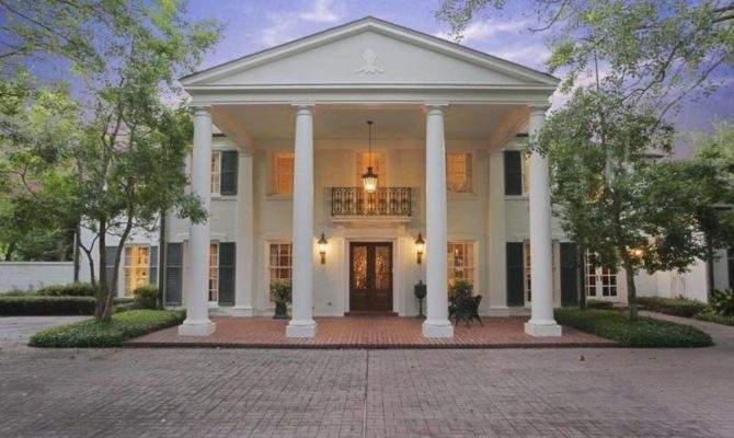 Texas Fine Example Colonial Style Architecture Photos