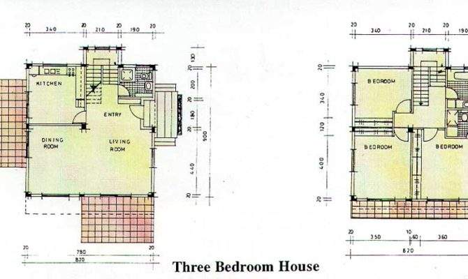 Three Bedroom House Plans Small Home