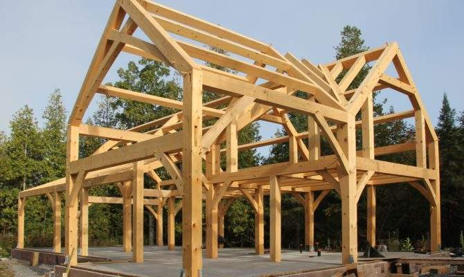 Timber Frame House Cold Climate Part Dma Homes