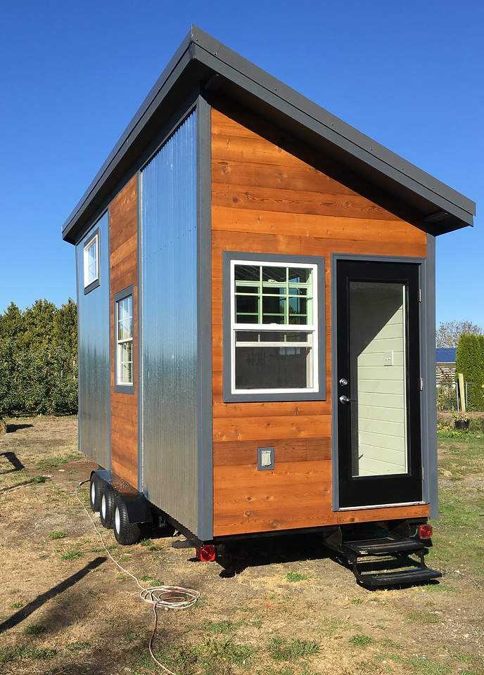 Tiny House Town Modern Rustic Home Bellingham