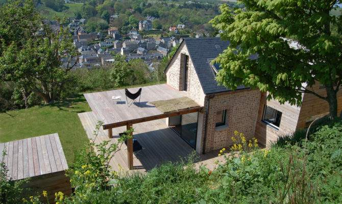 Tiny Stone Cottage Brought Back Life Normandy