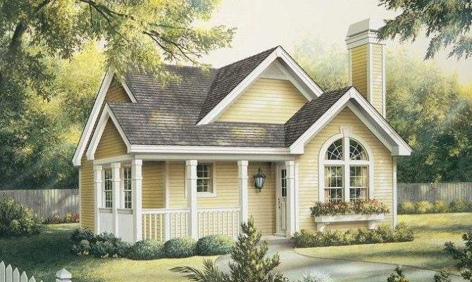 Tiny Storybook Cottage House Plans Throughout