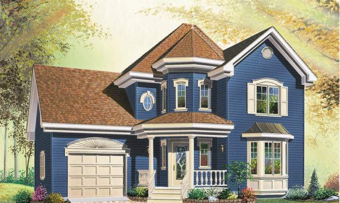 Traditional House Plan Front Plans More