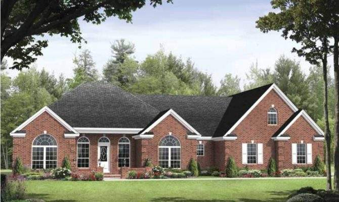 Traditional House Plan Square Feet Bedrooms Dream