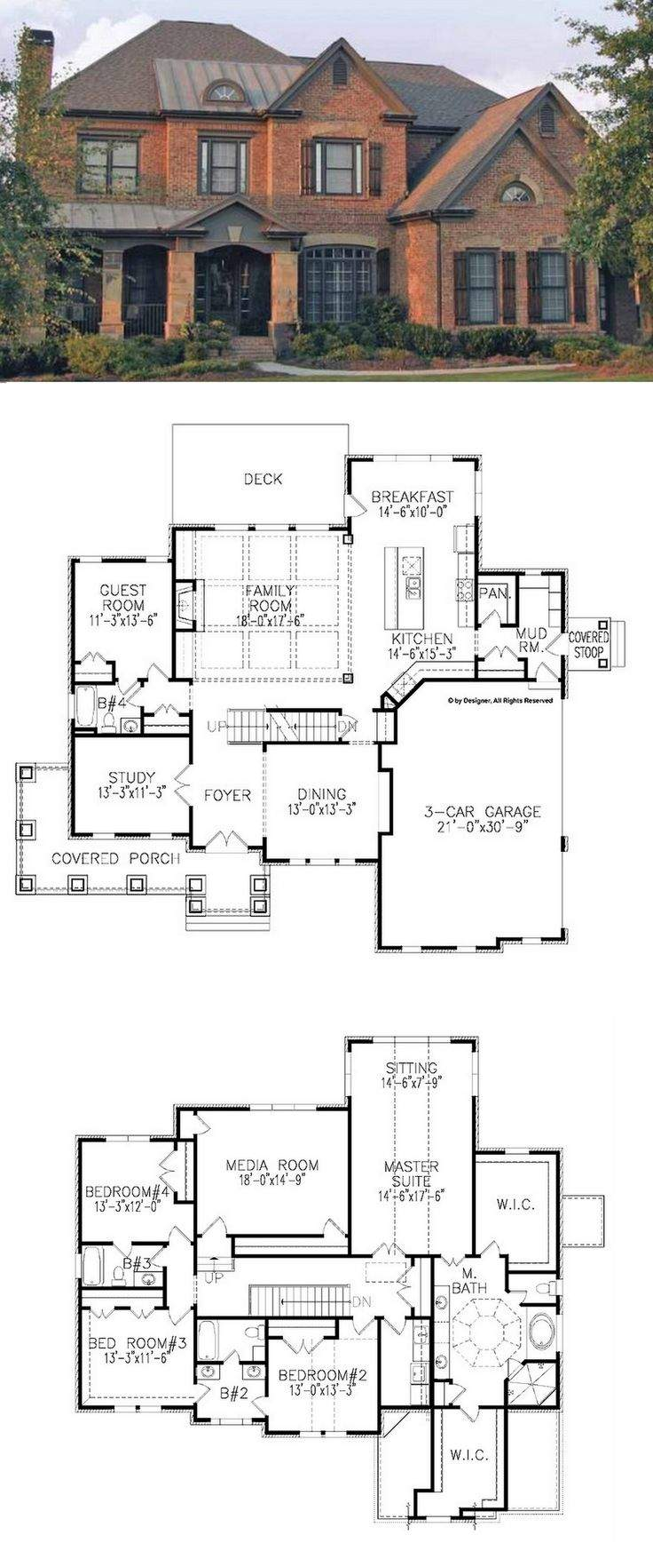 Traditional House Plan Square Feet