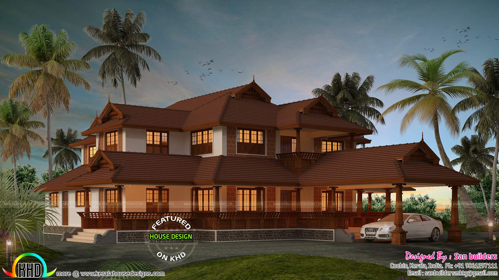 Traditional Kerala Home Year Design