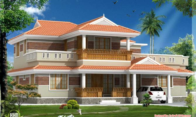 Traditional Looking Kerala Style House Feet