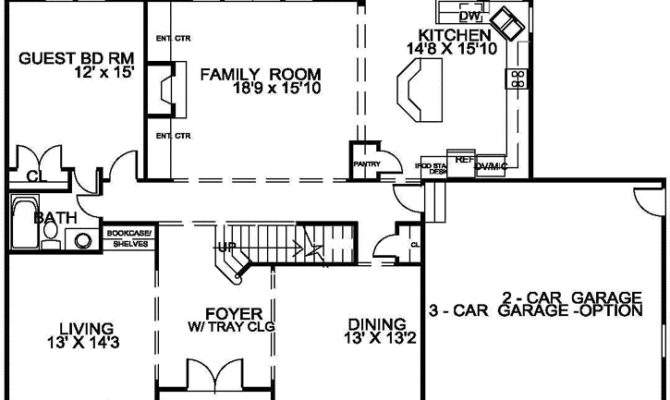 Traditional Style House Plans Square Foot Home