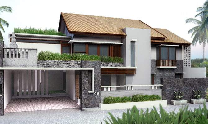 Trend Balinese Houses Designs Cool Ideas