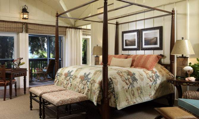 Tropical Bedroom Clifford Scholz Architects Inc
