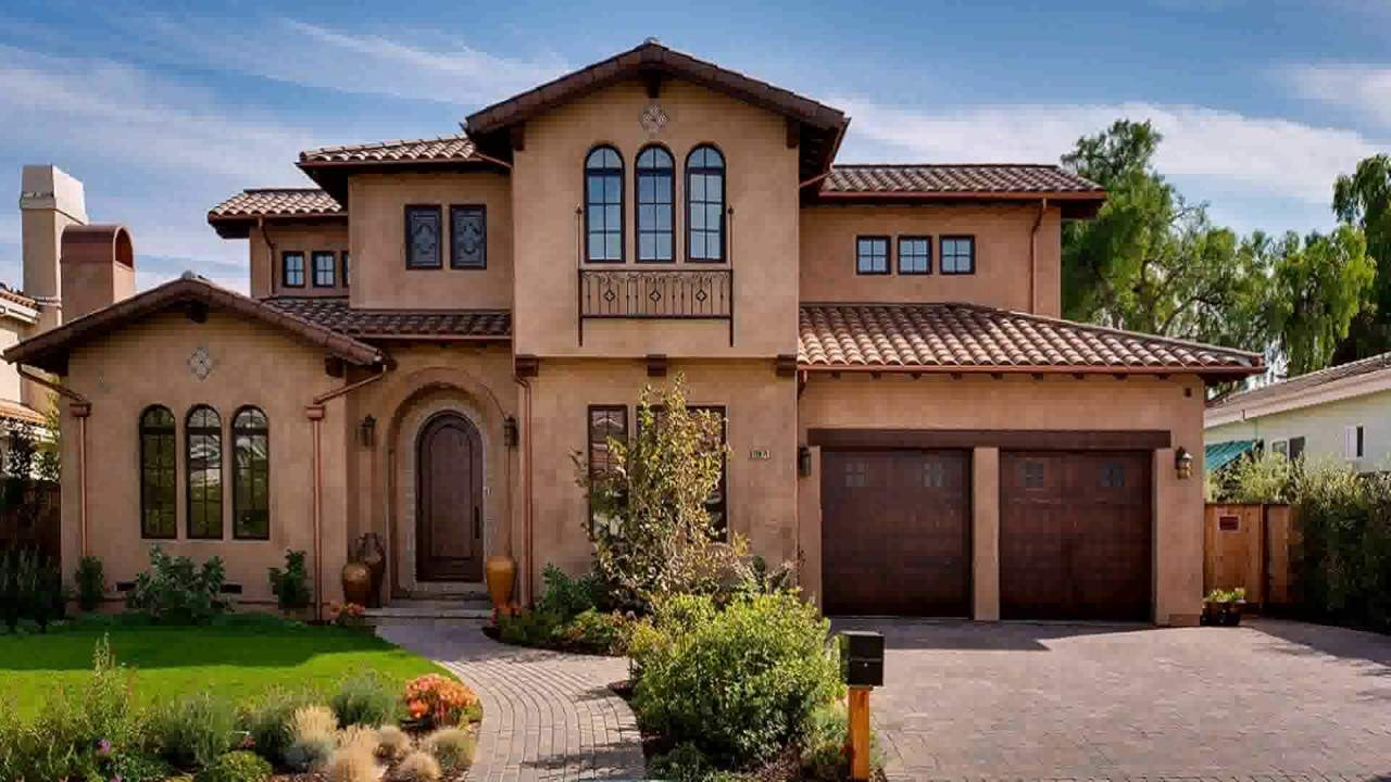 Tuscan Style Homes Youtube