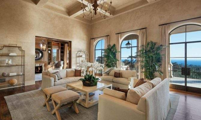 Tuscan Style Living Rooms Pleasing Best