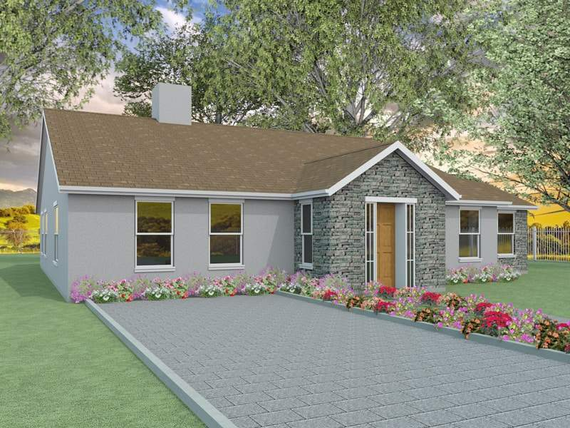 Two Bedroom Bungalow Designs Millstream