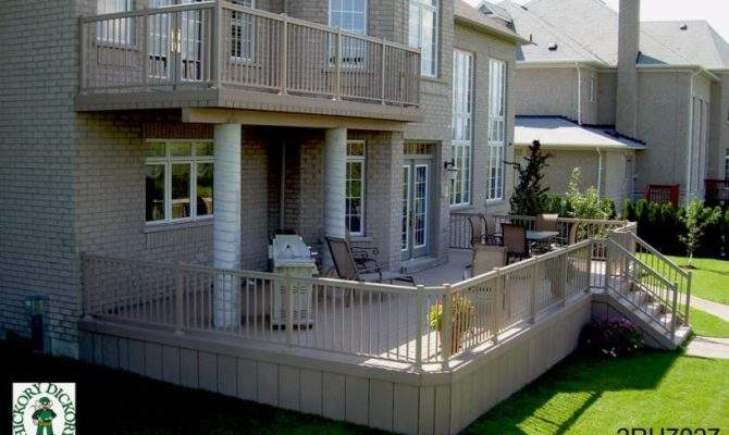 Two Decks Very Large Single Level Lower Deck