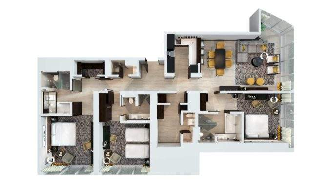 Two Floor Apartment Brucall