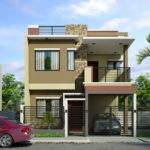 Two Storey House Design Sheryl Four Bedroom Story