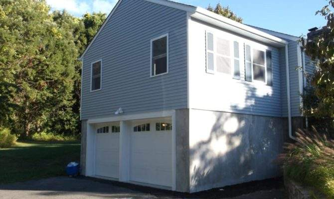 Two Story Addition Car Garage Below Room