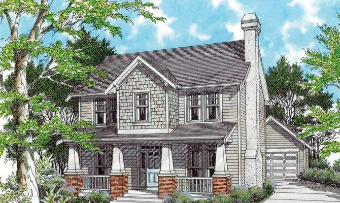 Two Story Bungalow Architectural Designs