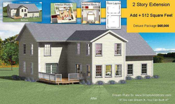 Two Story Extension Build Home Extend Your