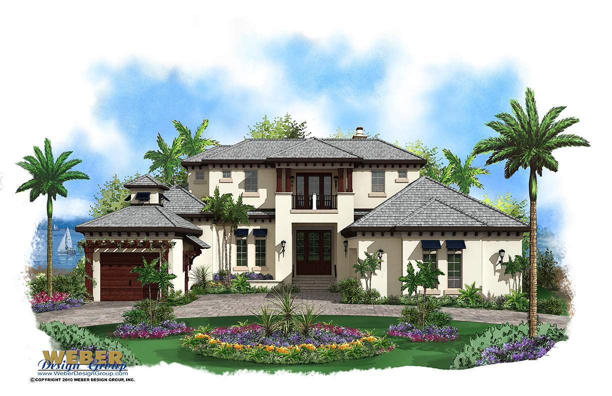Two Story House Home Floor Plan Plans Weber Design Group