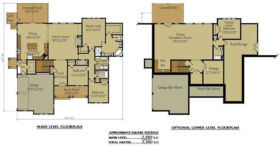 Two Story House Plans Finished Basement Home Desain
