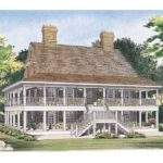 Two Story House Plans Wrap Around Porch Owingslawrenceville