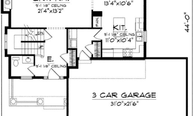 Two Story Open Floor Plan Architectural
