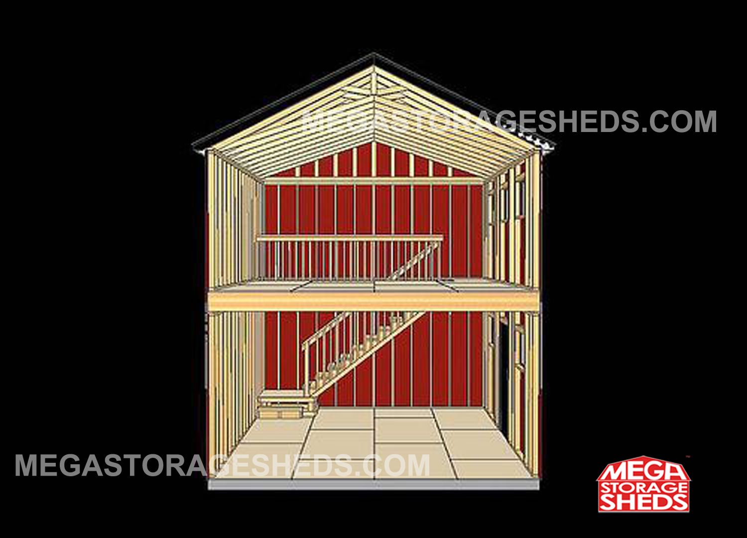 Two Story Sheds Plans Fourteen Gambrel Strew