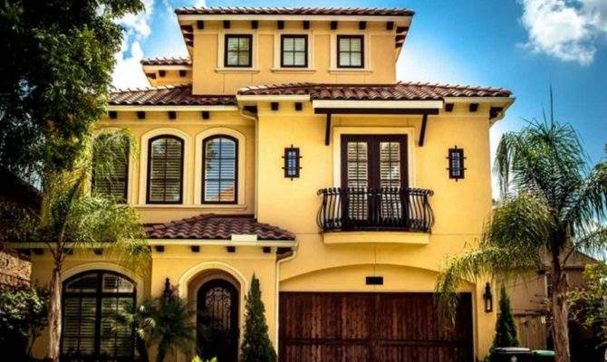 Two Story Spanish Style House Plans Designs