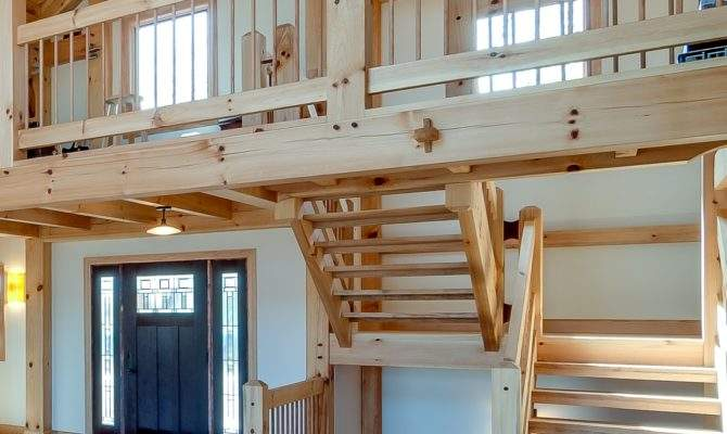 Types Timber Frame Stair Systems