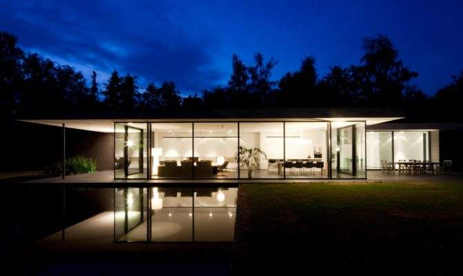Ultra Modern Glass House Architecture Design Moderndesign