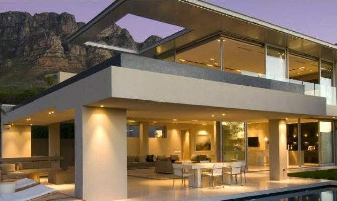 Ultra Modern House Plans Floor Two Story