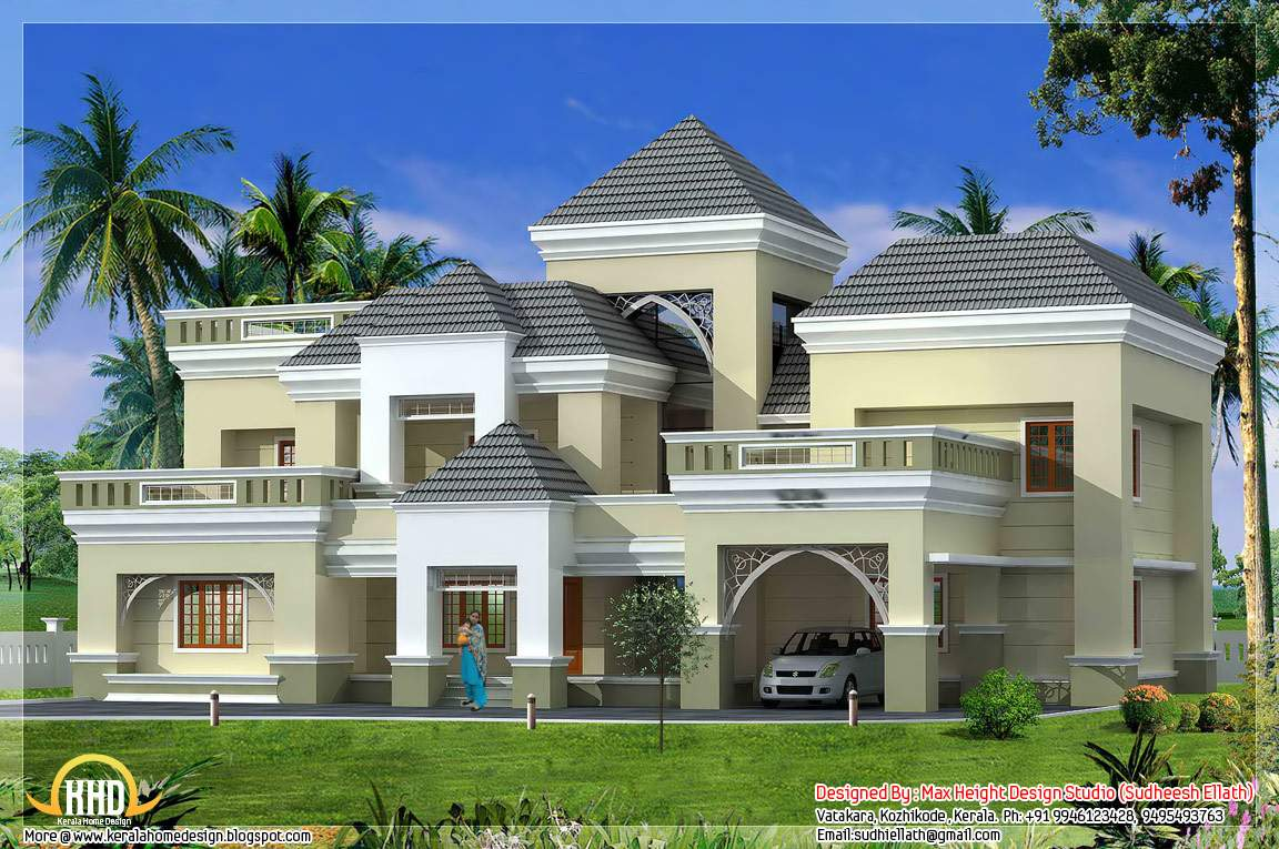 Unique Kerala Home Plan Elevation Indian Decor