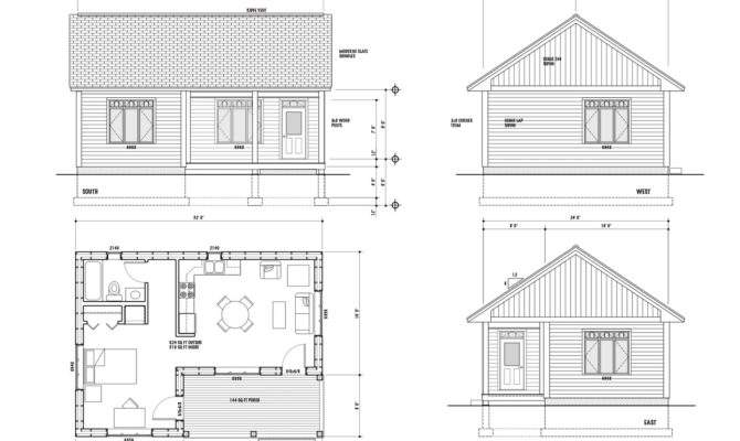 Unique One Room House Plans Bedroom Home