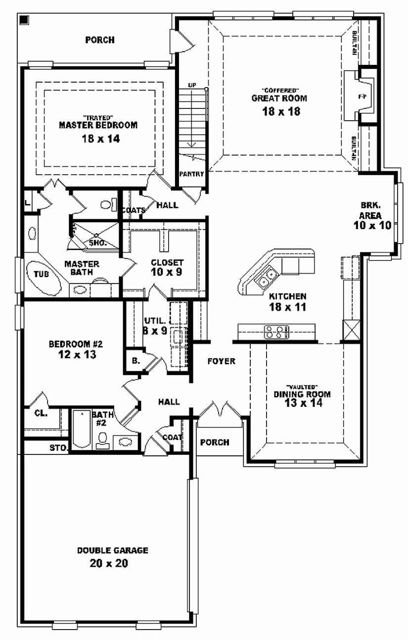 Unique Photograph Bedroom Storey House Plans Home