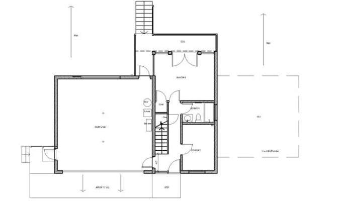 Upside Down House Plans Silvia Custom Builders Cape
