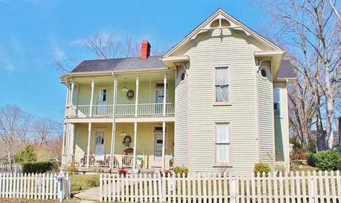 Victorian Two Story Porch Circa Old Houses