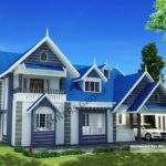 Victorian Type Model Plans Kerala Home