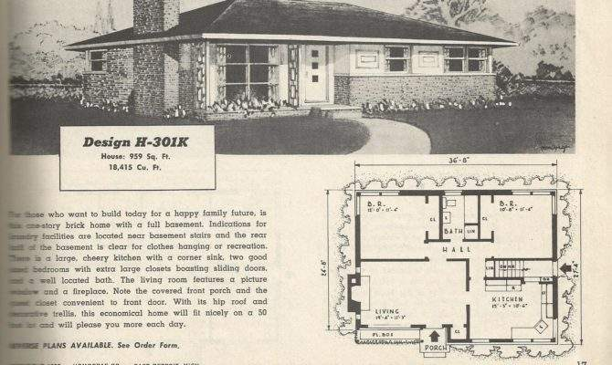 Vintage House Plans Budget Wise Homes Posted January