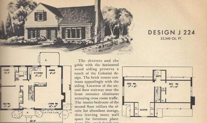 Vintage House Plans Story Homes Posted September
