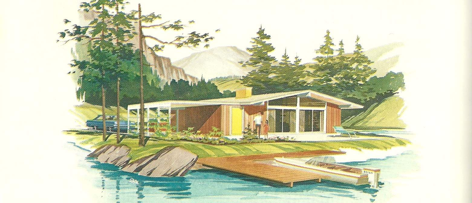 Vintage House Plans Vacation Homes Posted May