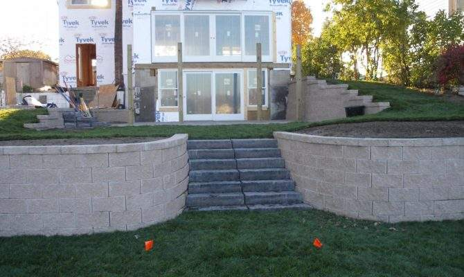 Walkout Basement Landscaping Ideas Home Plans